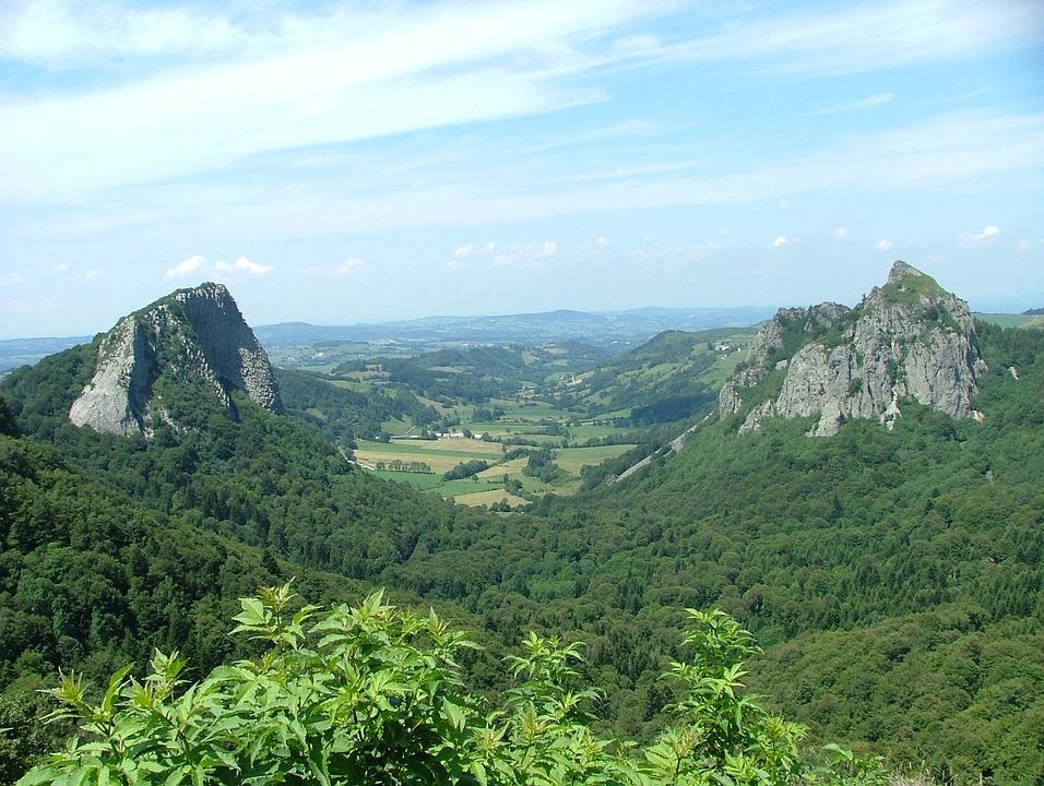 Auvergne, Mountain, Nature, Landscape, Volcano, Summit