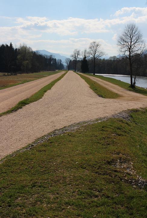Away, Way, Road, Nature, Landscape, Hiking, Run, Vision