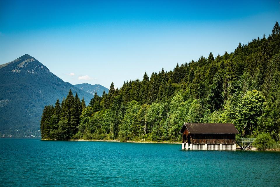 Walchensee, Bavaria, Nature, Lake, Landscape, Badesee