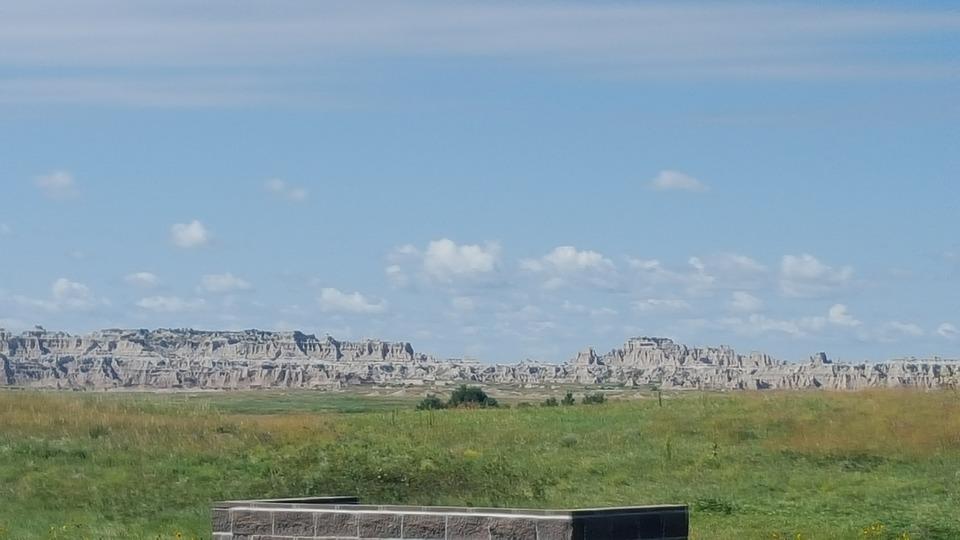 South Dakota, Landscape, Formations, Badlands