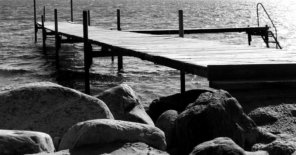 Web, Boardwalk, Landscape, Baltic Sea, Wooden Boards