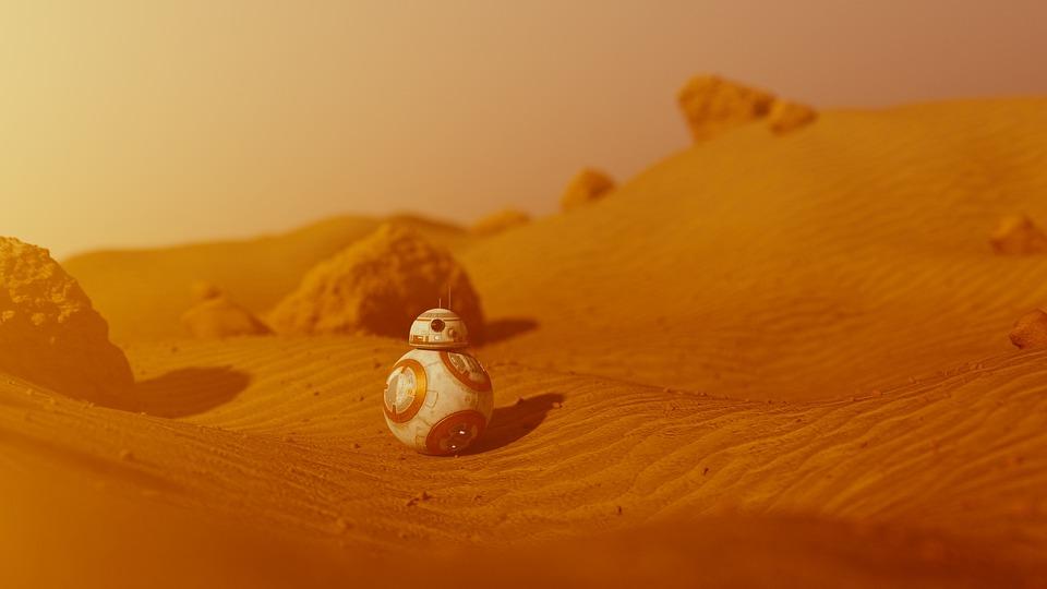 free photo landscape bb 8 bb8 martian mars star wars sand max pixel