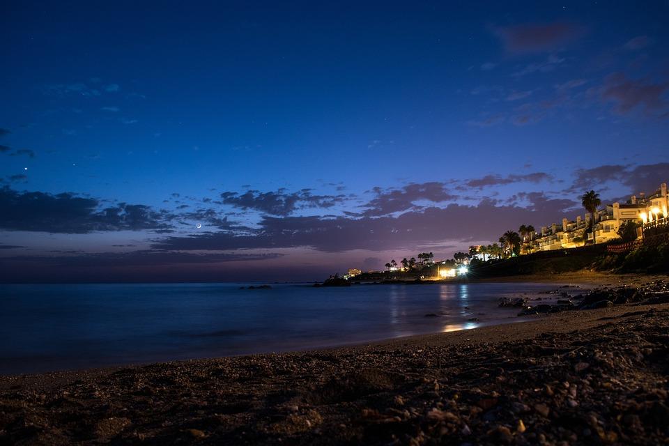 Sunset Sky Sea Landscape Beach The Bombo