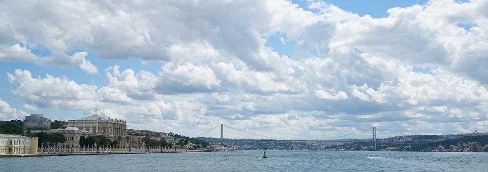 Throat, Marine, Turkey, Landscape, Blue, Nature, Peace