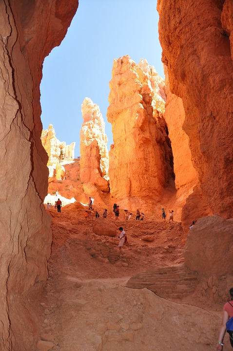 Bryce Canyon, Mountain, Cave, Nature, Landscape, Rock