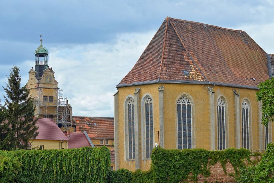 Landscape, Building, Castle, Castle Church