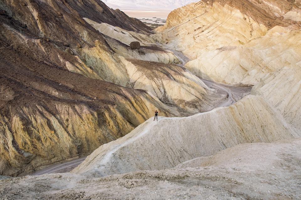 Landscape, Death Valley, California, Nature, Adventure