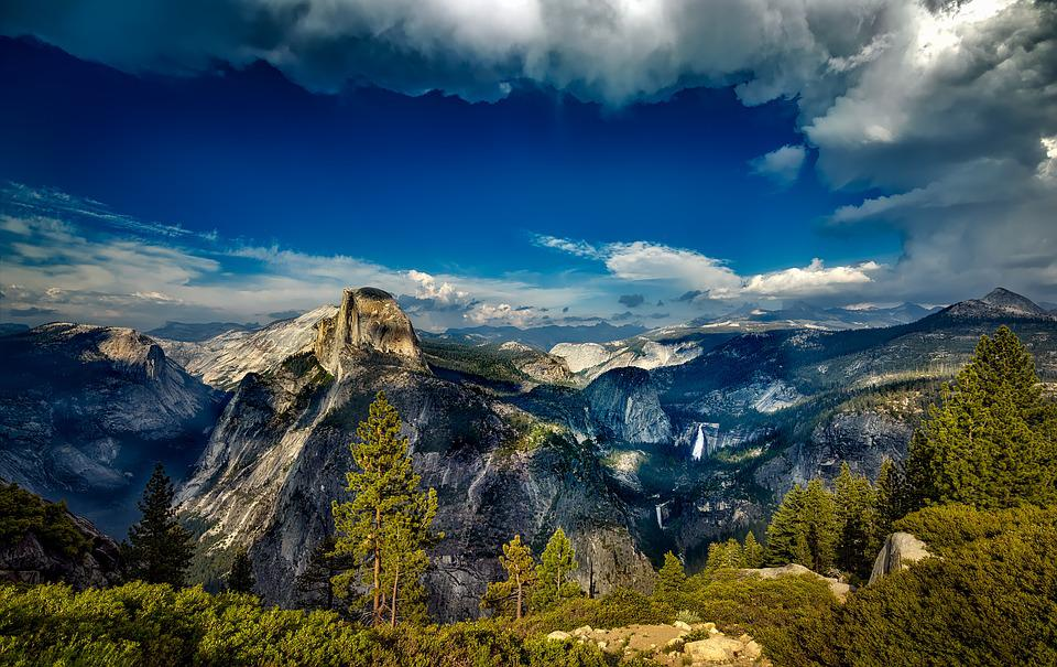 Yosemite, National Park, Landscape, California