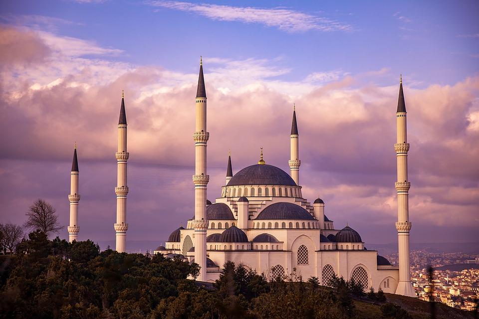 Mosque, Cami, Prayer, Istanbul, Turkey, Landscape