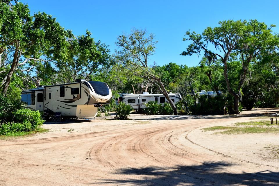 Free Photo Landscape Campground Camp Site Florida Camping Usa Max
