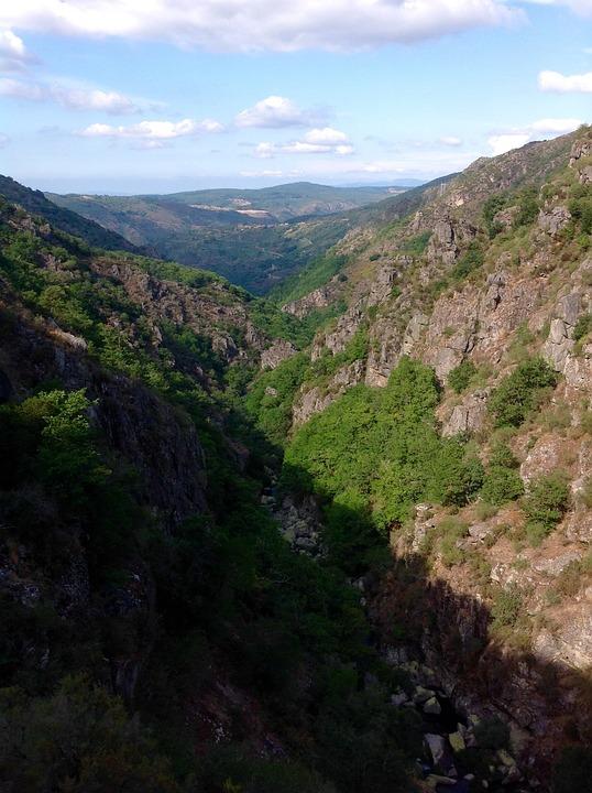 Landscape, Galicia, Canon, Nature, Mountain