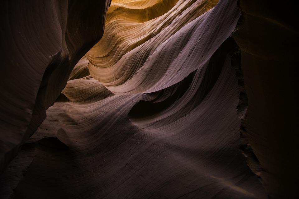 Canyon, Desert, Landscape, Pattern, Sandstone, Texture