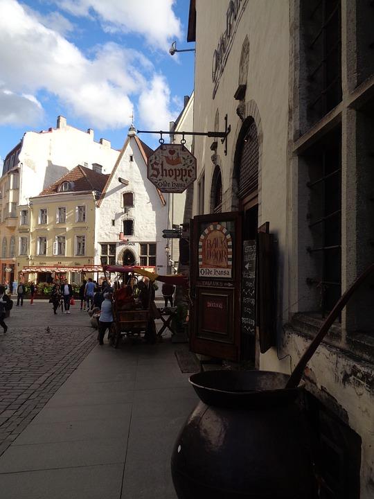 Tallinn, Estonia, Architecture, City, Landscape, Heaven