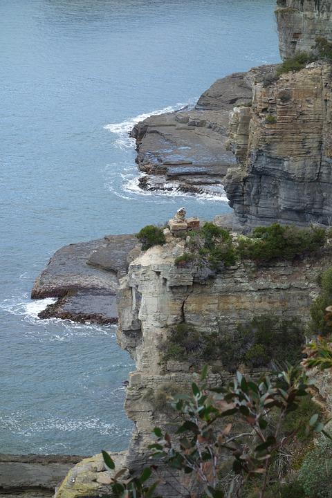 Cliffs, Sea, Water, Cliff, Landscape