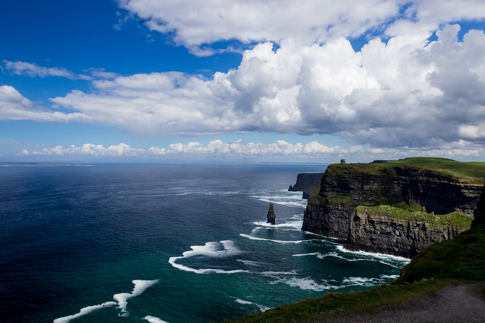 Cliffs Of Moher, Moher, Landscape, Sea, Nature, Cliff