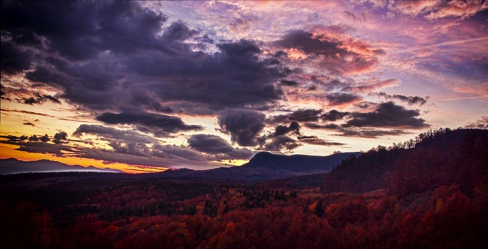 Cloud Scape, Mountain, Landscape, Nature, Cloud