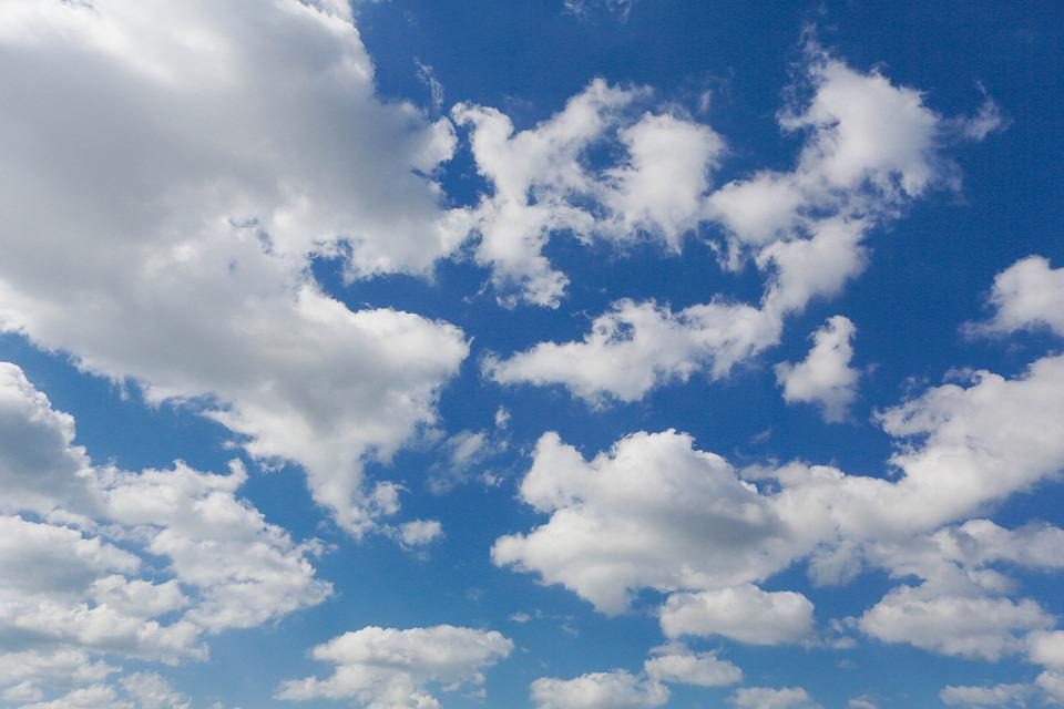 Sky, Cloud, Fair, Landscape, Nature, Weather, Summer