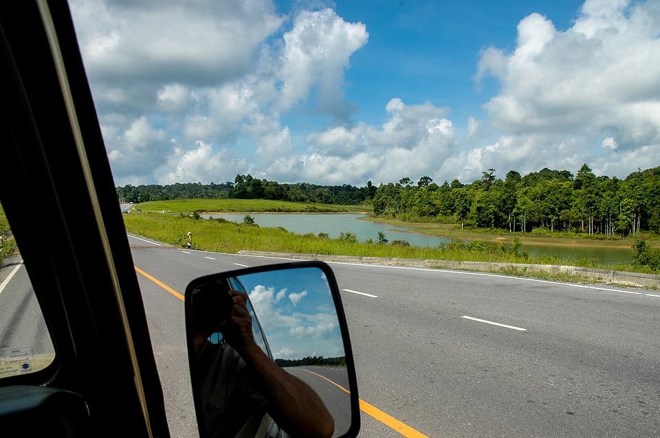 Landscape, Clouds, Lake, Mirrors
