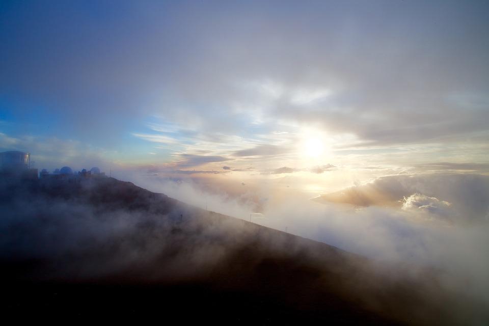 Mountains, Clouds, Sky, Sunset, Nature, Landscape