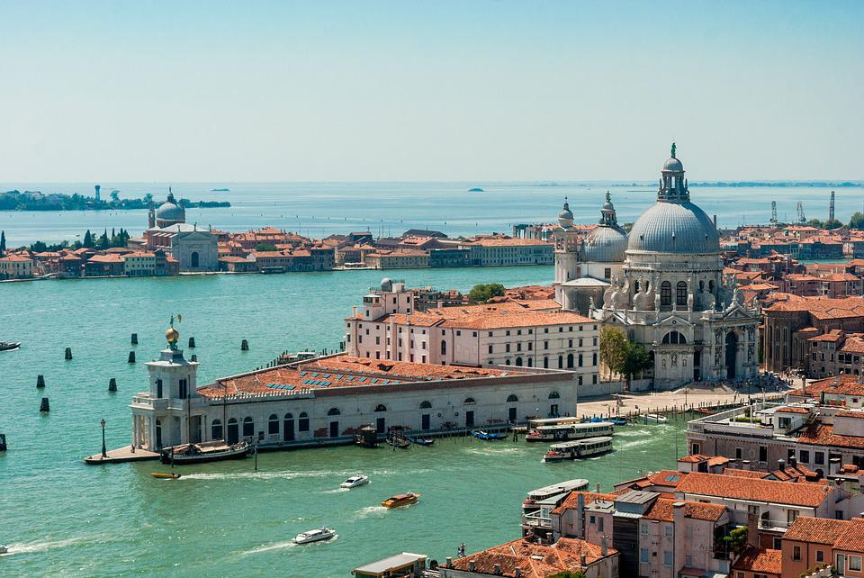 Venice, The Sun, Holidays, Clouds, Sky, Landscape
