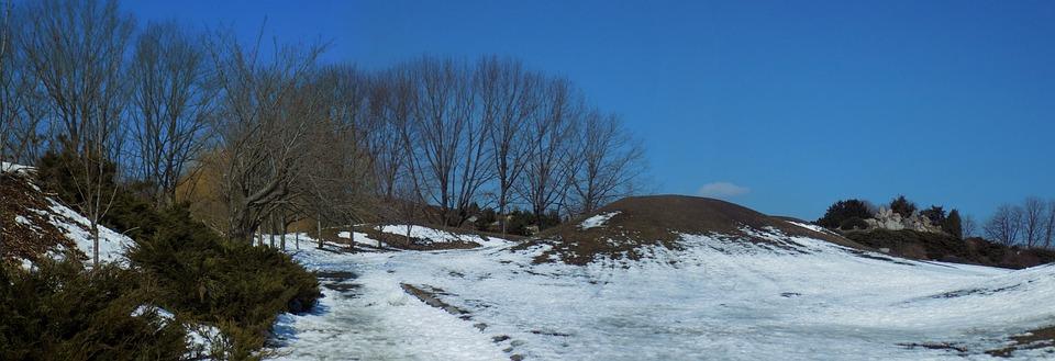 The Last Snow, Winter, Coldly, Nature, Landscape