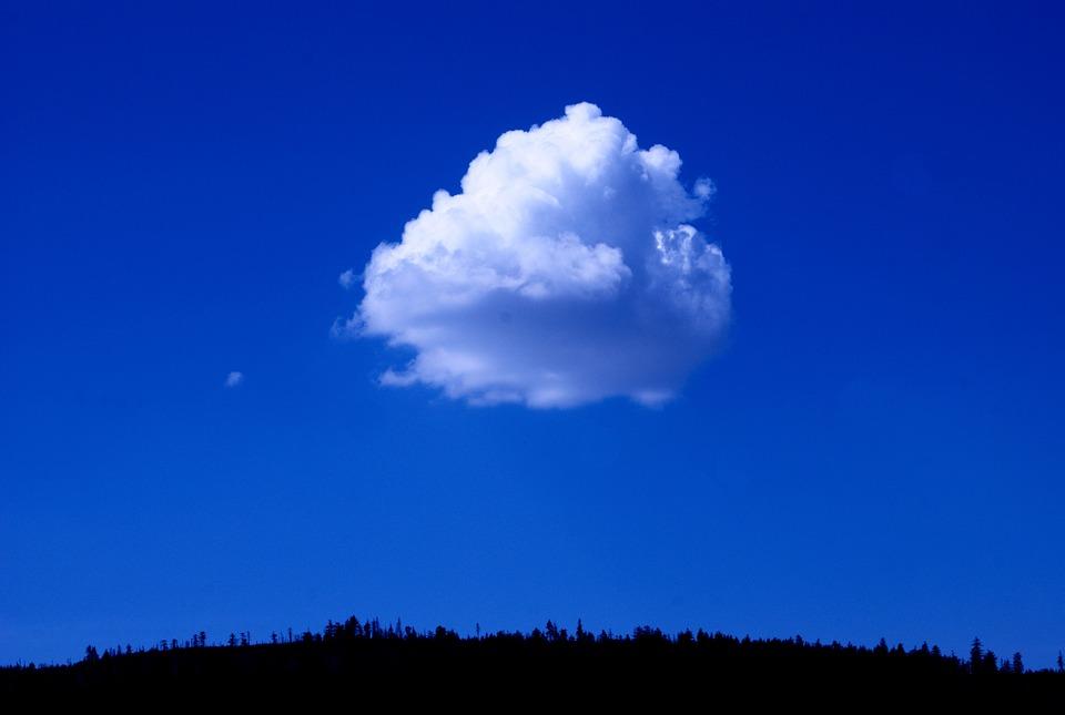 Sky, Blue, Cloud, Color, Nature, Landscape, View