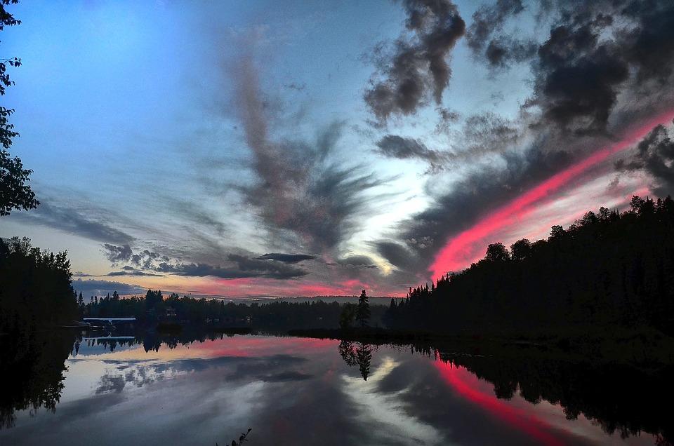 Landscape, Colors, Nature, Lake, Contrast, Water