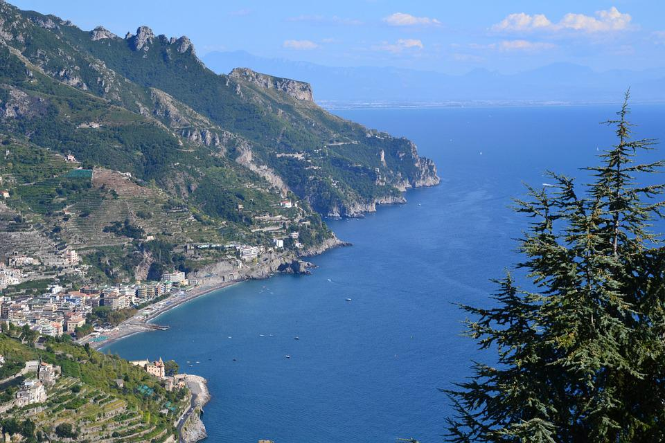 Sea, Landscape, Costiera