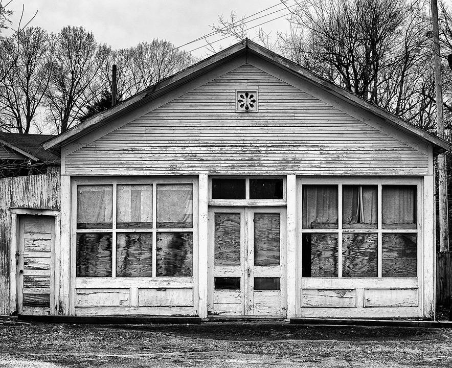Monochrome, Black And White, Landscape, Rural, Country