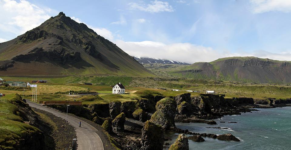 Iceland, Nature, Landscape, Countryside, Outdoor, House