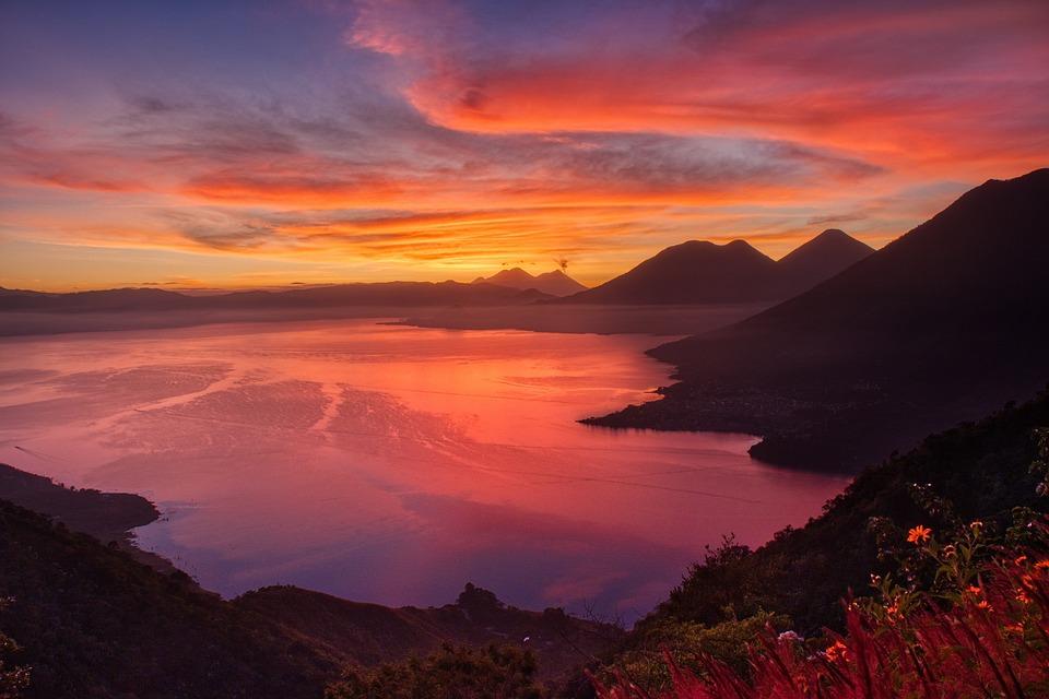 Sunrise, Water, Dawn, Morning, Landscape, Sun, Lake