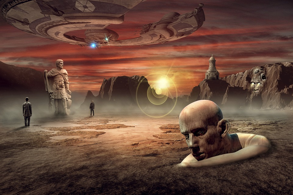 Human, Man, Panorama, Landscape, Fantasy, Dream World