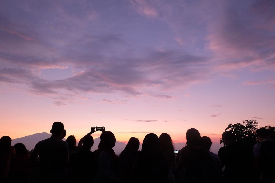 Sunset, Jogja, Jogjakarta, Landscape, Summer, Evening
