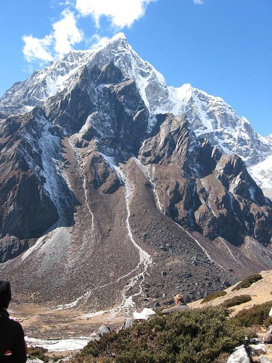 Nepal, Mountains, Landscape, Snow, Everest Trek