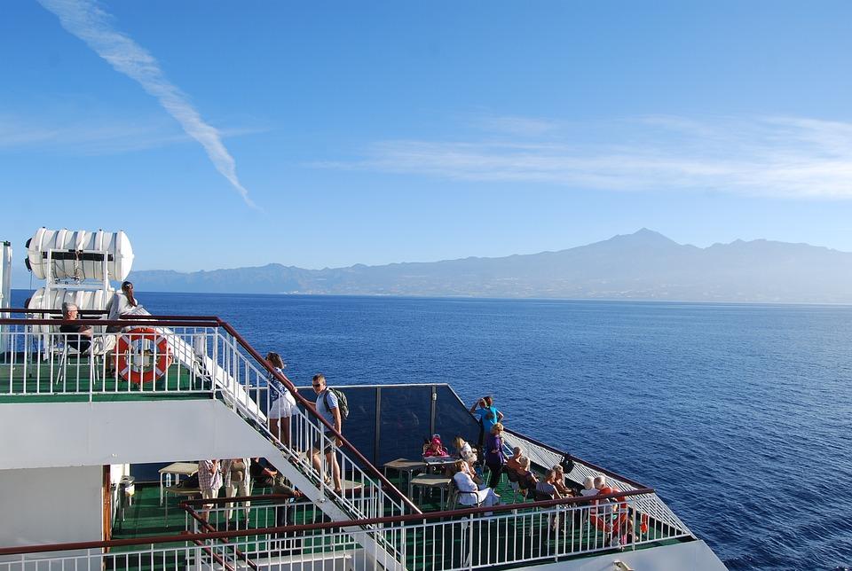 Ferry, Landscape, Tenerife