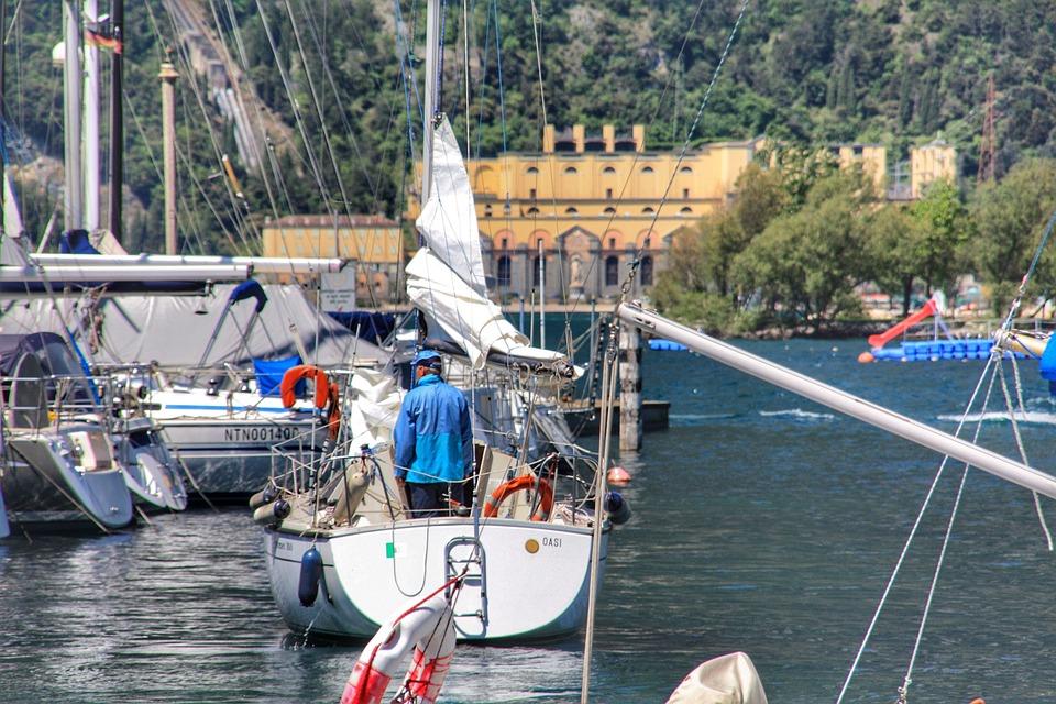 Garda, Water, Italy, Vacations, Lake, Nature, Landscape