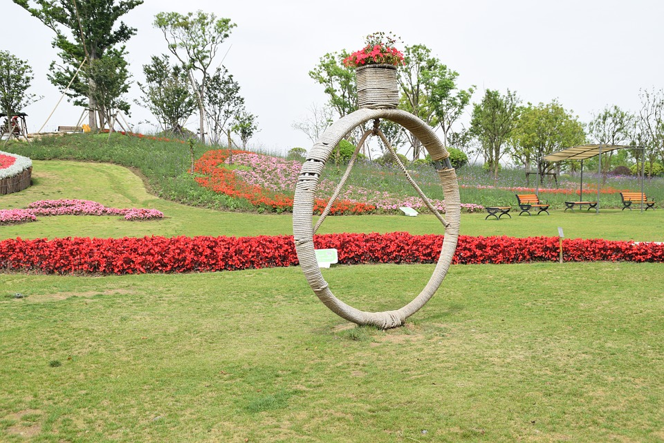 Park, Diamond Ring, Landscape Gardening, Creative