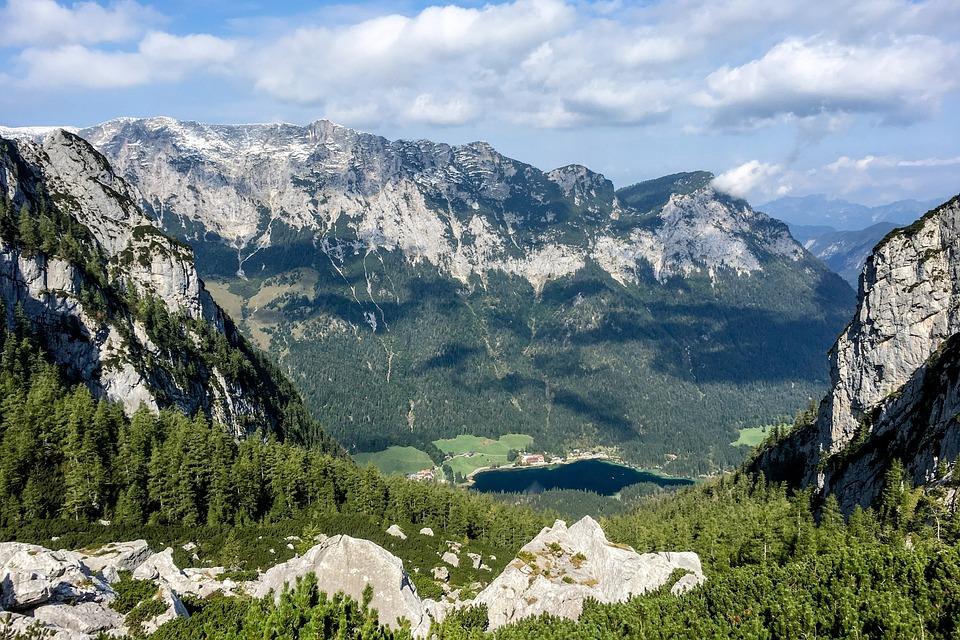 Germany, Berchtesgaden, Nature, Landscape, Alpine, Lake