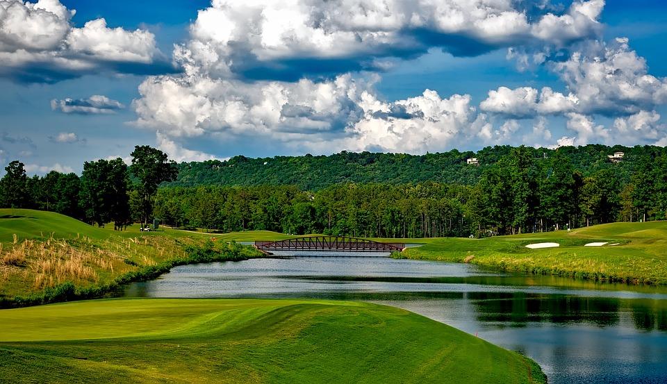 Ross Bridge Golf Course, Golfing, Sports, Landscape