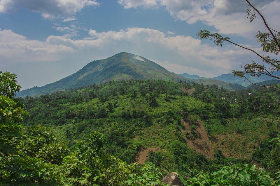 Mountain, Green, Ear, Landscape, Nature, Mountains