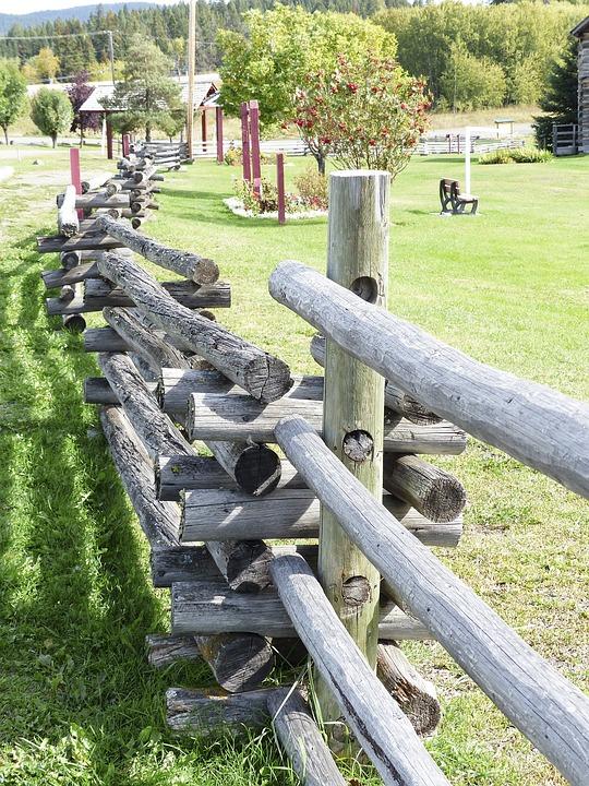 Wooden, Fence, Landscape, Heritage, Wild West