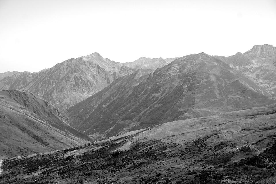 Mountains, Landscape, Countryside, Highlands, Peak