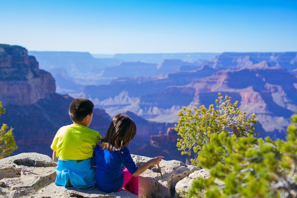 Canyon, Children, Hike, Kids, Landscape, Nature
