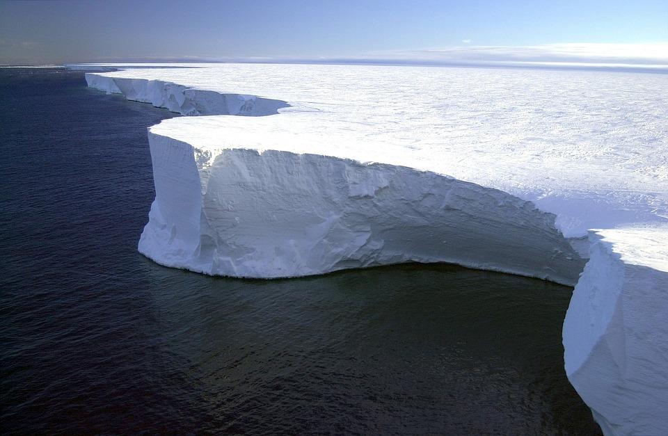 Iceberg, Antarctica, Landscape, Sea, Ocean, Water