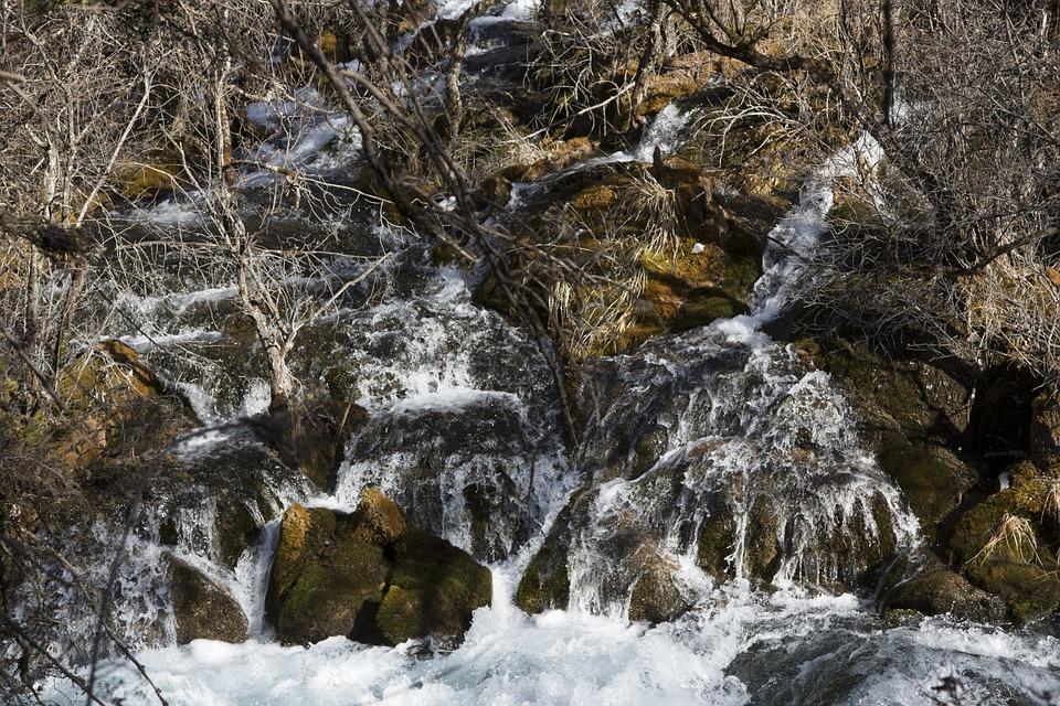 Landscape, Scenery, Jiuzhaigou, In Aba Prefecture