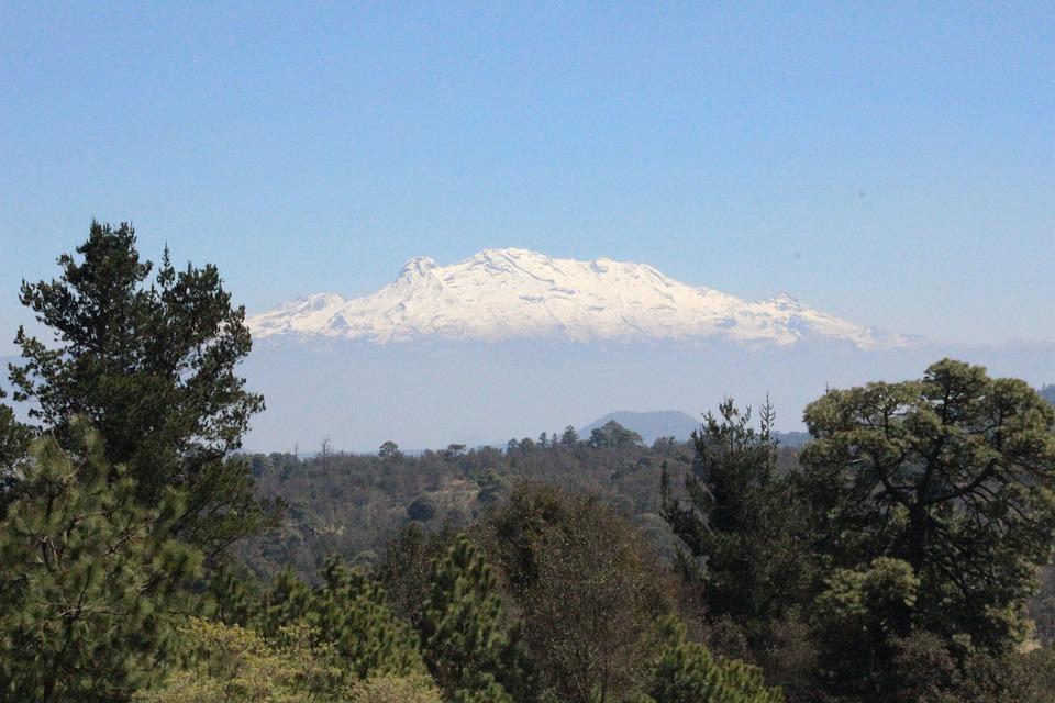 Forest, Landscape, Nature, Mountain, Iztaccíhuatl