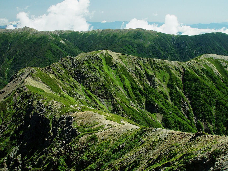 Mount Shirogochi, Japan, Landscape, Mountains, Nature