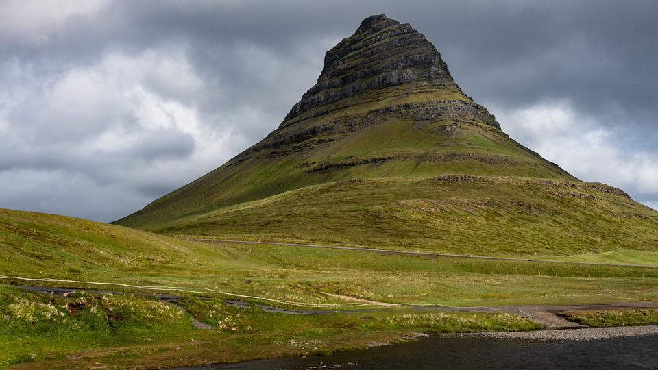 Grundarfjörður, Kirkjufell, Mountain, Landscape