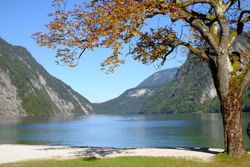 Königssee, Berchtesgaden, Lake, Landscape, Bavaria