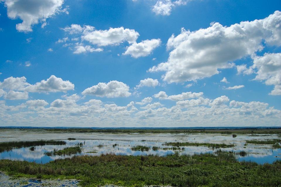 Clouds, Lake, Unobstructed Pas- Sage, Landscape